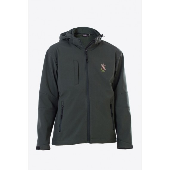 Softshell jakna s snemljivo kapuco