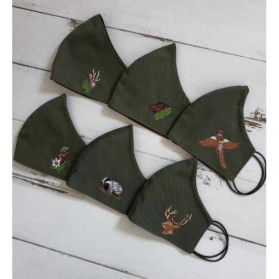 Lovska maska - različni motivi