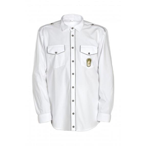 Lovska svečana srajca - dolgi rokav (k lovskemu kroju)