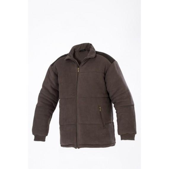 Podložena flis jakna